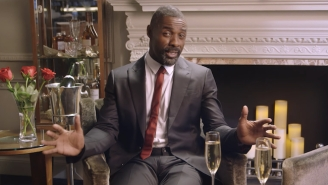 Kids Offer Up Their Finest Dating Advice To Global Treasure Idris Elba Just Ahead Of Valentine's Day