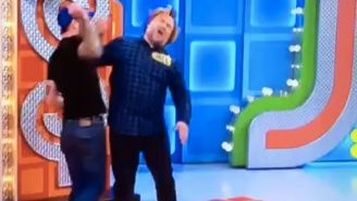 Jack Black Got Beaned On The Head By An Overly Enthusiastic 'The Price Is Right' Contestant