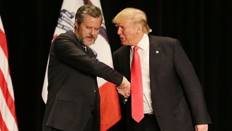 Jerry Falwell Jr. Claims He Will Helm Trump's Higher Education Task Force