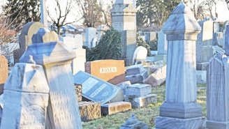 Muslim Americans Rush To Aid A Philly Jewish Cemetery After Vandals Destroyed Hundreds Of Gravestones