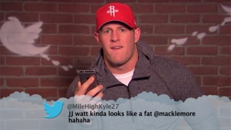 J.J. Watt, Russell Wilson, And More NFL Greats Read Mean Tweets About Themselves On 'Kimmel'