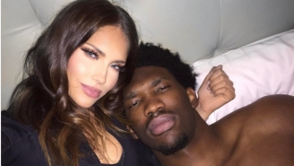 Joel Embiid Has Docked His Ship With Reality Star Olivia Pierson