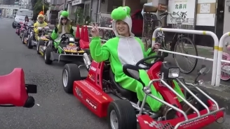 Nintendo Is Suing A Japanese Company Over Their Real World 'Mario Kart' Tours Of Tokyo