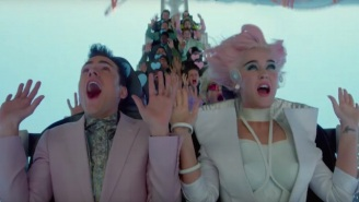 Katy Perry's 'Chained To The Rhythm' Video Dissolves The Cotton Candy Veneer Of American Capitalism
