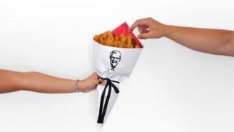 KFC Upgrades Your Valentine's Day Bouquet With Fried Chicken