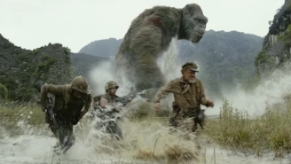 The Latest Clips From 'Kong: Skull Island' Confirm That Monsters Exist And They Will Battle