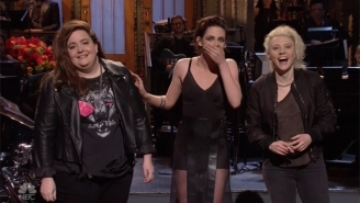 Kristen Stewart Brings Up Donald Trump's 'F*cking' Weird 'Twilight' Tweets On 'SNL'