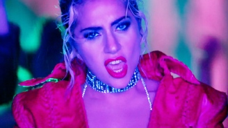Lady Gaga Looks For A Man As Tough As Her In The 'John Wayne' Video