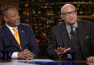 Larry Wilmore Was No Fan Of Milo Yiannopoulos On 'Real Time': 'You Can Go F*ck Yourself'