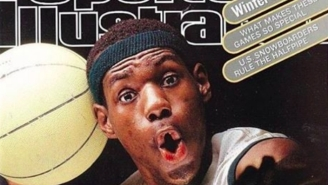 LeBron James Looked Back At His High School Sports Illustrated Cover