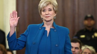 Linda McMahon Has Been Confirmed As Head Of The Small Business Administration
