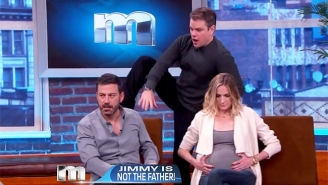 Matt Damon Faces Down Jimmy Kimmel On 'Maury' In The Latest Chapter Of Their Long-Running Feud
