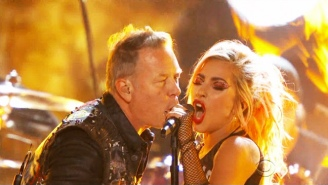 Hear What That Lady Gaga X Metallica Grammys Performance Sounds Like With A Working Mic
