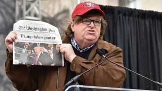 Michael Moore Shares His 10-Step Plan To 'Stop' The 'Dark Force' That Is Donald Trump