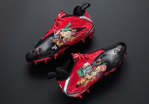 Under Armour Made Julio Jones Migos-Inspired Cleats For The Super Bowl And They're Amazing