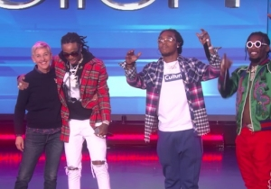 Migos Brought 'Bad And Boujee' To 'Ellen' And Her Audience Went Crazy