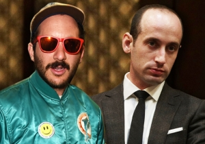 Stephen Miller Lost A High School Election To Noted Hipster Photographer 'Cobrasnake' After He Was Booed Off Stage During A Speech