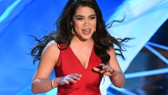 16-Year-Old Auli'i Cravalho Just Killed Her First Oscars Performance Of 'How Far I'll Go' From 'Moana'