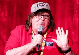 Michael Moore Accuses Trump Of 'Squatting' In The White House: 'Vacate You Russian Traitor'