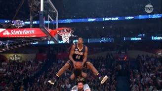 Glenn Robinson III Started The Dunk Contest With A 50-Point Explosion