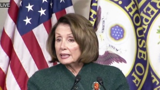 Nancy Pelosi Calls Steve Bannon A 'White Supremacist' Who Is Making America 'Less Safe'