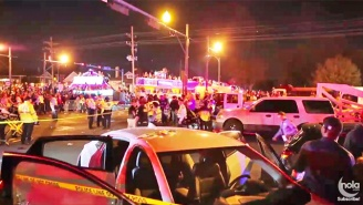 A Truck Plowed Into The Endymion Mardi Gras Parade In New Orleans, Injuring Dozens