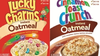New Lucky Charms and Cinnamon Toast Oatmeal Flavors Have A Lot Of Grownups Very Excited