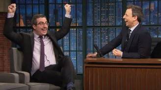 John Oliver Wants Obama To Cool It With Those Fun, Carefree Vacation Photos