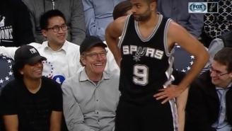 Bryan Cranston Nearly Smacked Tony Parker's Butt To Win A $100 Bet From M. Night Shyamalan