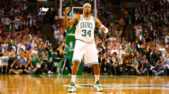 timeless design 63c63 00cba Paul Pierce's Jersey Retirement Is The NBA's Hottest Ticket ...