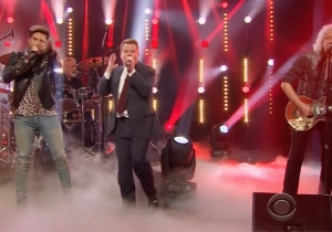 Adam Lambert And James Corden Have A Queen Sing-Off To See Who Should Join The Band's New Tour
