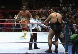 Randy Savage And André The Giant Had Real-Life Beef Due To Baby Oil