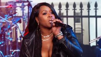 Watch Remy Ma Scorch Everything In Sight On A Late Night Performance Of 'Money Showers'