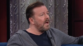Ricky Gervais And Stephen Colbert Get Into A Heated Debate On Religion