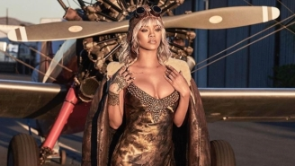 Rihanna Looks Gorgeous In 'Amelia Earhart Couture' For This Historical 'Bazaar' Cover