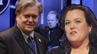 Don't Expect To See Rosie O'Donnell Playing Steve Bannon On 'SNL'