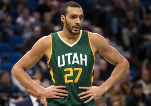 Rudy Gobert Learned About The NBA By Watching 'Space Jam'