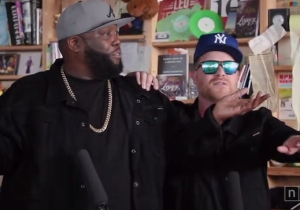 Run The Jewels Bring Their Boisterous Sounds To NPR's Tiny Desk Concert Series