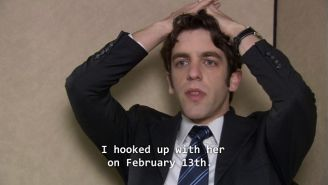 Ryan From 'The Office' Has A Message For Anyone Hoping To Hook Up Before Valentine's Day