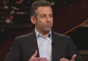 Sam Harris Couldn't Help Bringing Up Ben Affleck While Discussing The Muslim Travel Ban On 'Real Time'