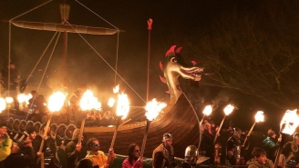 These Instagrams From Scotland's Fire Festival Are Absolutely LIT