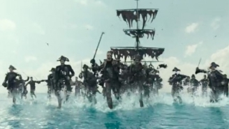 'Pirates Of The Caribbean: Dead Men Tell No Tales' Sails In With A New Super Bowl Trailer