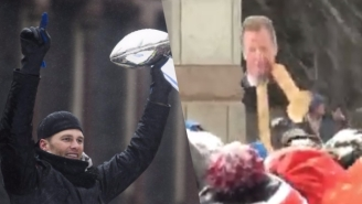 The Patriots Parade Was Filled With Plenty of Gronk And Penis Signs