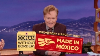 Conan O'Brien Announced Some Huge Guests For His Upcoming 'Conan: Made In Mexico' Episode