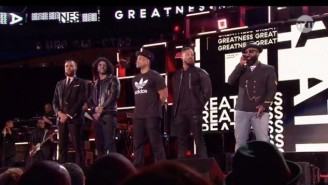 The All-Star Game Intros Featured The Roots And Friends In An NBA Tribute Through The Years
