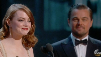 Emma Stone Wins The Oscar For Best Actress For Her Performance In 'La La Land'