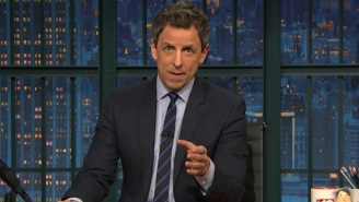 Seth Meyers Says Gorsuch Is The 'Silhouette Facebook Gives You When You Don't Have A Profile Picture'