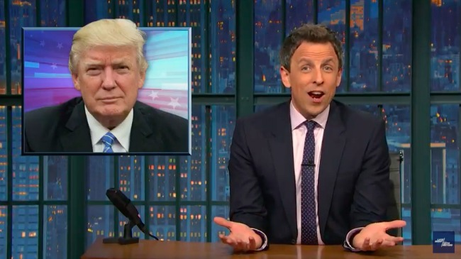 Seth Meyers Punches A Few Holes In Trump's Claims Of Nonstop Winning
