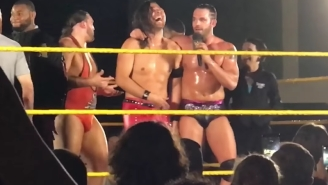 NXT Had A Special In-Ring Celebration For Shinsuke Nakamura's Birthday