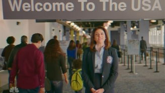 'SNL' Gives A Hasty Update To The Immigration Welcome Video Thanks To Trump's Muslim Travel Ban